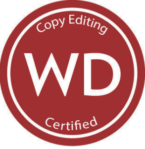 Sharon Skinner has been certified for Copy Editing by Writer's Digest